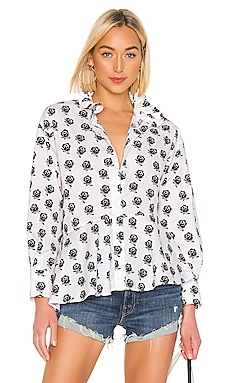 Ruffle Collar Shirt Kenzo $112