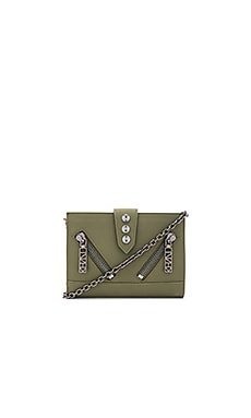 Kalifornia Wallet On Chain in Military Green