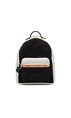 Neoprene On Denim Eyes Backpack en Noir