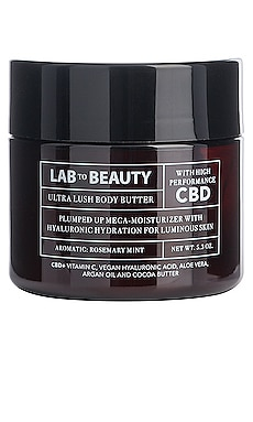 The Ultra Lush Body Butter LAB TO BEAUTY $50