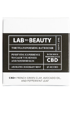 The Transforming Bath Bomb LAB TO BEAUTY $20