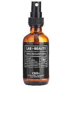 The Travel CBD Sanitizer LAB TO BEAUTY $25