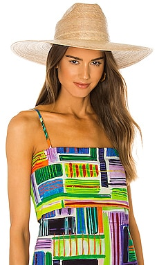 Western Wide Palma Hat Lack of Color $129