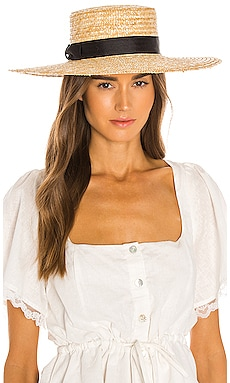 The Spencer Wide Brimmed Boater Lack of Color $89