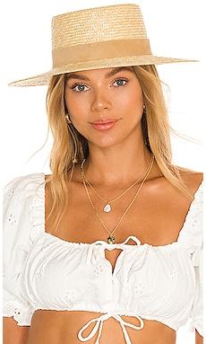 The Spencer Boater Hat Lack of Color $89