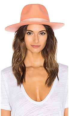 Sunset Palms Wool Fedora