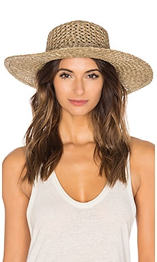 The SunnyDip Wide Brimmed Hat in Seagrass