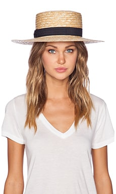 The Spencer Boater Hat