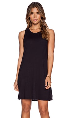 LACAUSA Habit T Dress in Tar