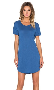 LACAUSA Ever T Dress in Astral Blue