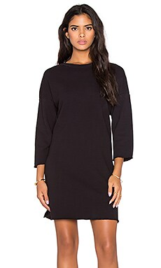 LACAUSA Doze Dress in Tar