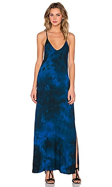 LACAUSA Gallery Dress in Angel Wash Velvet