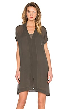 LACAUSA Yarrow Tunic w/ Slip in Root