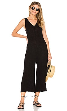 Rainbow Jumpsuit in Tar