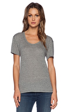 LACAUSA Heather Bo T Tee in Gravel
