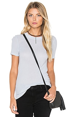 LACAUSA Thin Thermal York Tee in Bowie