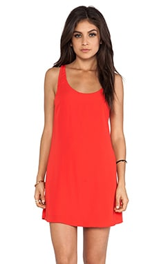 Intertwined Dress in Pimento