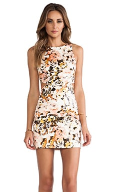 Ladakh Party Monster Cut-out Dresses in Peach