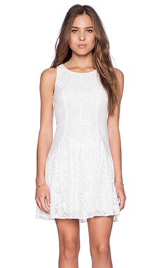 Ladakh Camilla Lace Dress in White