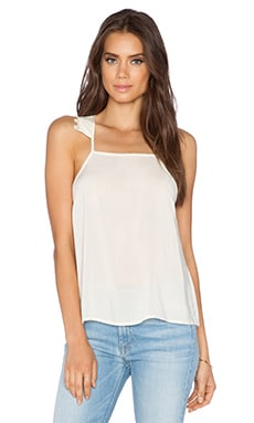 Ladakh Eloise Lace Cami in Bone