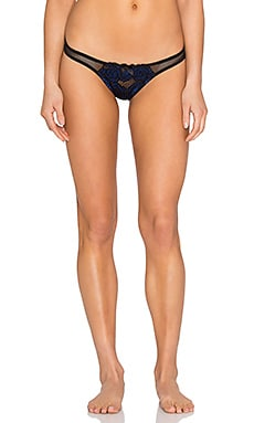 L'Agent by Agent Provocateur Sylvana Mini Brief in Black & Blue