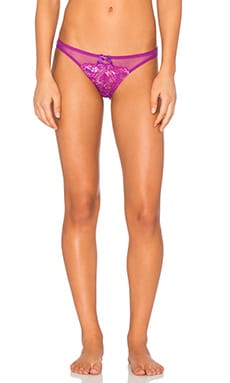 L'Agent by Agent Provocateur Adlina Mini Brief in Amethyst & Pink