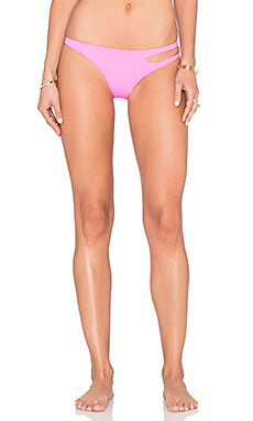 L'Agent by Agent Provocateur Agata Bikini Bottom in Pink