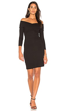 Fantina Shoulder Wrap Dress