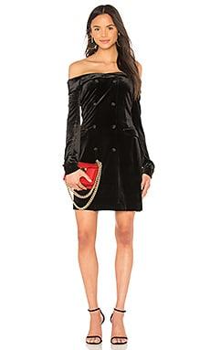 Фото - Платье-жакет romilly - L'AGENCE черного цвета