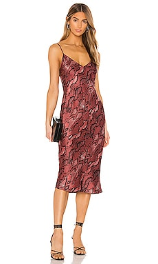 Jodie V Neck Slip Dress L'AGENCE $525