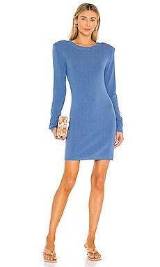 Minette Long Sleeve Knit Dress L'AGENCE $395