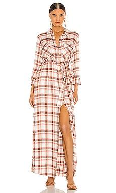 Cameron Long Shirt Dress L'AGENCE $375