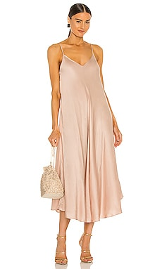 Lorraine Trapeze Dress L'AGENCE $375