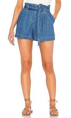 Hillary Paperbag Shorts L'AGENCE $245 BEST SELLER