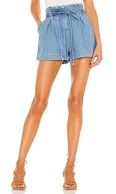 Hillary Paperbag Shorts L'AGENCE $245
