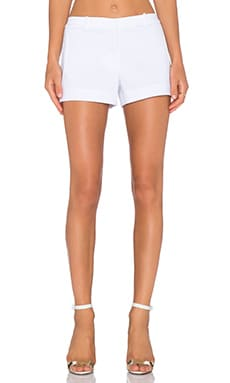 L'AGENCE Kamila Welt Pocket Short in Coconut