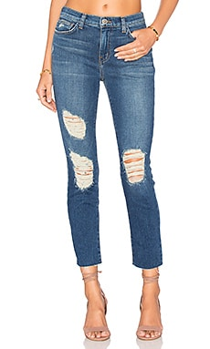 L'AGENCE Marcelle Slim Fit Jeans in Authentique Distressed