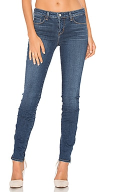 JEAN SKINNY AVEC GLISSIÈRE TAILLE MOYENNE CHANELLE
