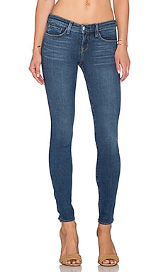 L'AGENCE Chantal Low Rise Skinny in Dark Vintage