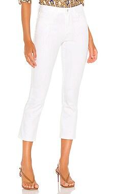 Прямые джинсы nadia - L'AGENCE Белый фото
