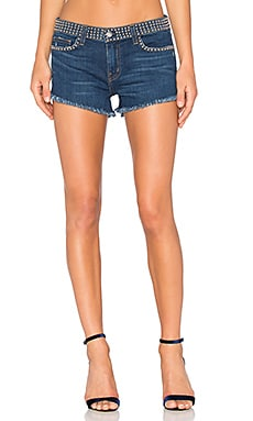 Zoe Studded Short in Authentique