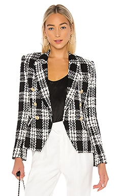 Kenzie Double Breasted Blazer L'AGENCE $689