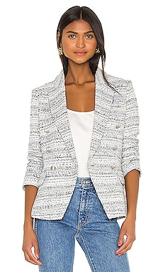 Kenzie Double Breasted Blazer L'AGENCE $650