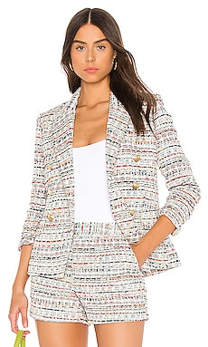 Kenzie Double Breasted Blazer L'AGENCE $595