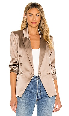 Kenzie Double Breasted Blazer L'AGENCE $675