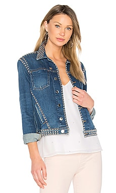Celine Studded Jacket in Authentique Distressed