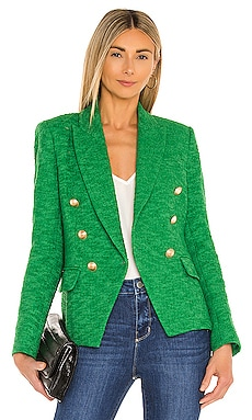 Kenzie Double Breasted Blazer L'AGENCE $595 Collections