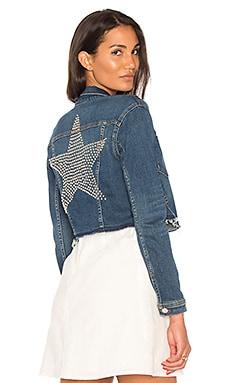 Zuma Cropped Jacket With Studded Star