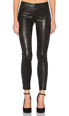 Aurelie Leather Legging in Noir