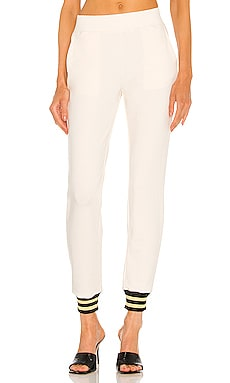 Moss High Rise Jogger Lurex Pant L'AGENCE $220 Collections